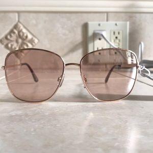Brand New Pink & Gold Sunglasses